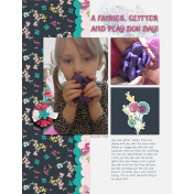 A Fairies, Glitter and Play Doh Day