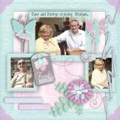 June and George Enjoying Brixham...