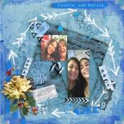 Chantal and Natalie