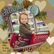 Harper loves to shop