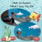 The zoo's aquarium