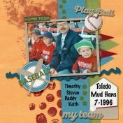 Mud Hens Game 1996