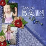 Grace loves the rain 2