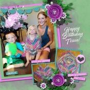 Tessa turns 3