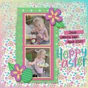 Tessa at Easter