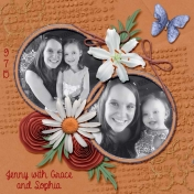 My sister and nieces