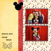 Meeting with Mickey Mouse