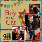 A Boy and his Car