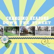 Changing Seasons down my Street
