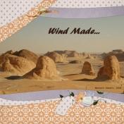 Wind made