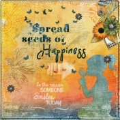 Spread seeds of happiness