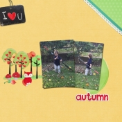 I Love U Autumn