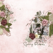 Spring blooms (Country Rose)