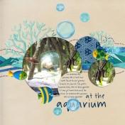 At the Aquarium (Mermaid Tales)