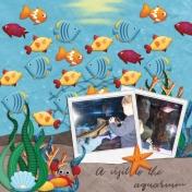 A visit to the aquarium (Ocean life)