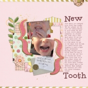 New tooth (Pink Pineapple)
