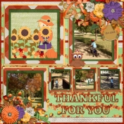 Thankful for you (Colorful Fall)
