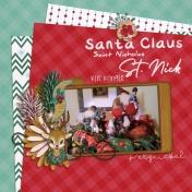 Santa Claus (Retro Christmas)