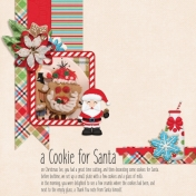 A cookie for Santa (Gingerbread)