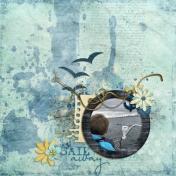 Sail Away (Aqua Blue)