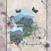 A Bicyclette (Lavender Shade)