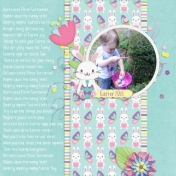 Hoppin down the bunny trail (Hippity Hoppity Easter)