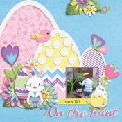 On the hunt (Hippity Hoppity Easter)