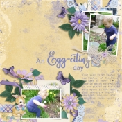 An Egg-citing Day (Vintage Spring)