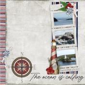 The ocean is calling (Nautical)
