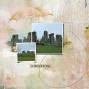 Stonehenge (Spring Rain)