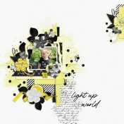 You light up my world (Yellow)
