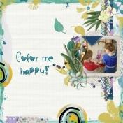 Color me happy (Paint my world)