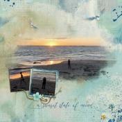 A sunset state of mind (Aquablue)