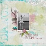Little girls have big dreams (Just Dance)