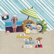 The beauty & the beach (Wet Memories)