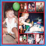 1st Birthday 2nd page