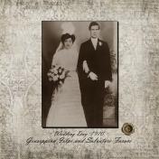 Wedding Day 1910