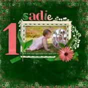 Sadie...