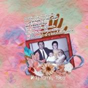 My family 1969