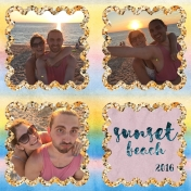 Selfies at Sunset Beach