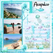 Acapulco-Blue Sea