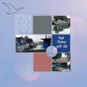 the Pérrones royal yacht club