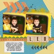Leo is 2