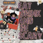 Eat Drinl and be Scary