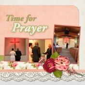 Time For Prayer