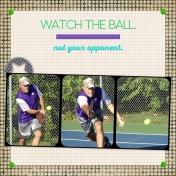 Wayne, watch the ball