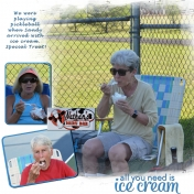 Pickleball Ice Cream