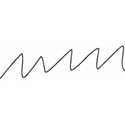 Zig Zag Doodle String Template