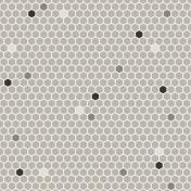 My Baptism- Honeycomb Overlay