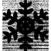 It's Christmas- Snowflake Shape #10